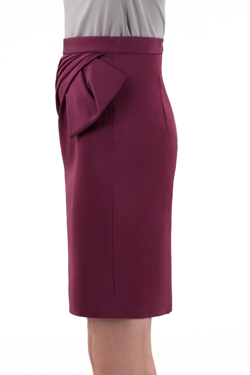 立裁褶裥短裙