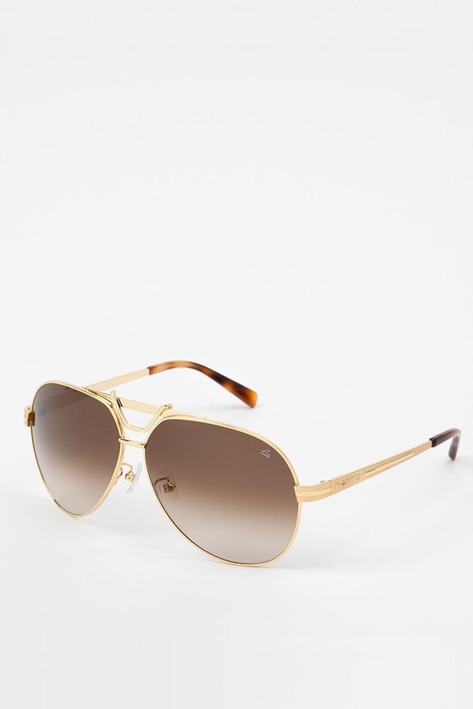 飞行员金属边框太阳眼镜