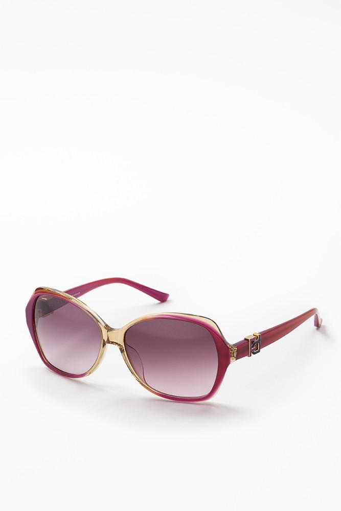 花纹大边框太阳眼镜